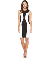 Calvin Klein - Color Block Ponte Sheath Dress