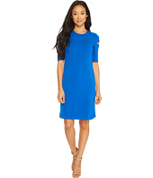 Calvin Klein - Arm Cut Out Short Sleeve Sheath Dress