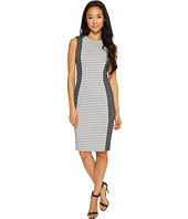 Calvin Klein - Patterned Jaquard Sheath Dress