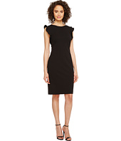 Calvin Klein - Ruffle Sleeve Sheath Dress