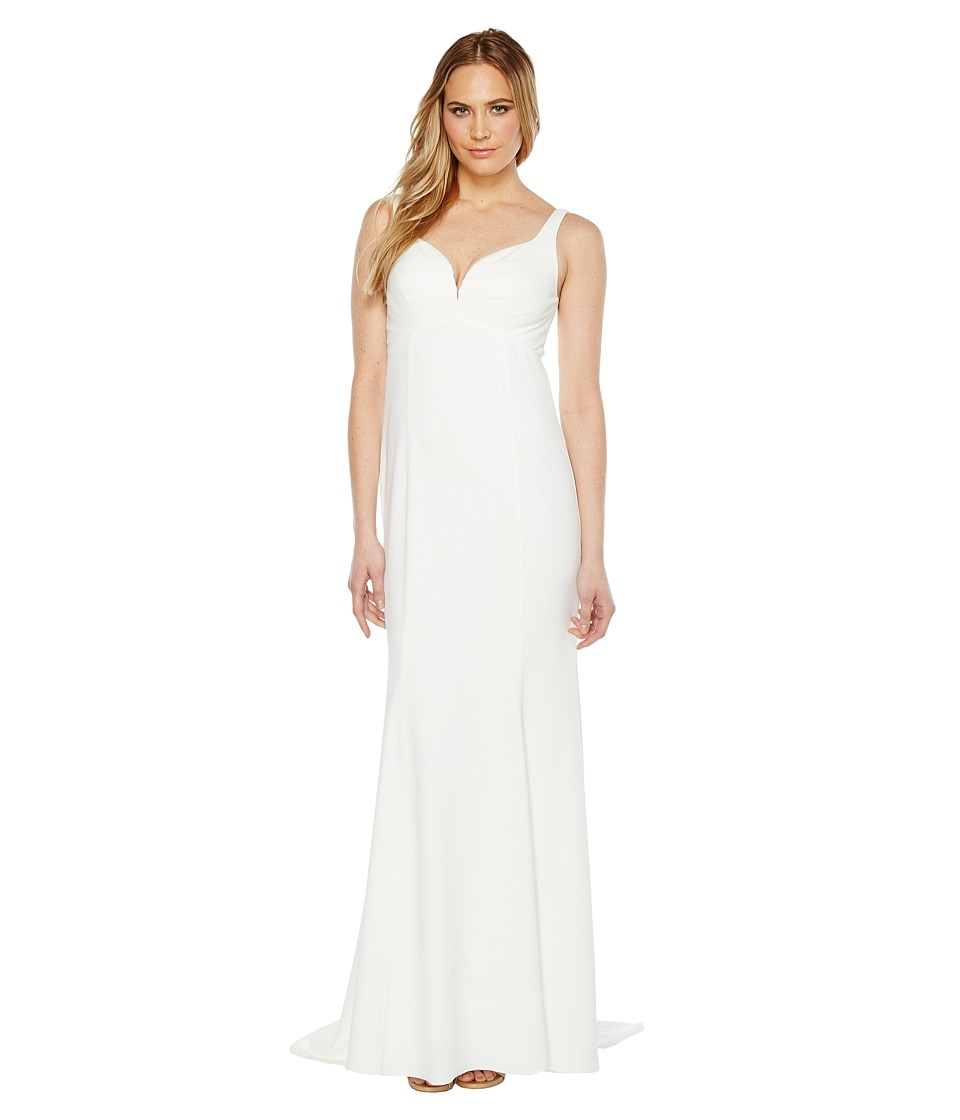Adrianna Papell - Knit Crepe Gown
