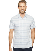 Perry Ellis - Plaid Tonal Dobby Shirt