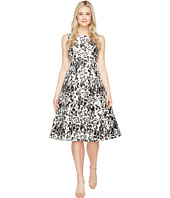 Adrianna Papell - Sleeveless Print Mikado Party Dress