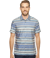 Perry Ellis - Stripe Ladder Lined Twill Shirt