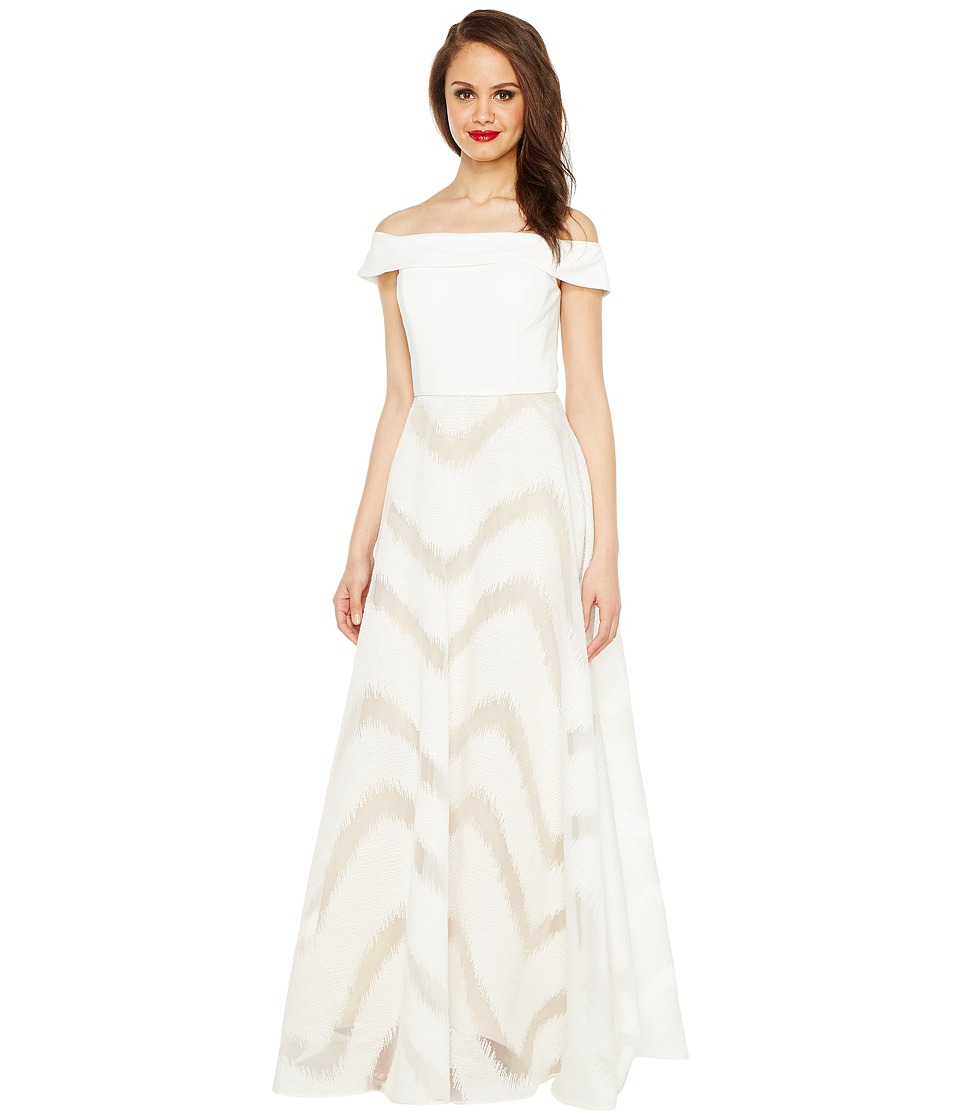 Adrianna Papell Adrianna Papell - Organza Full Circle Skirt Dress