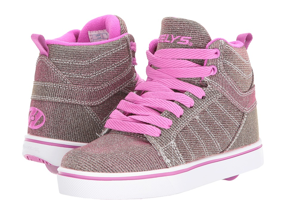 Heelys - Uptown (Little Kid/Big Kid/Adult) (Gold/Purple Color Shift) Girls Shoes