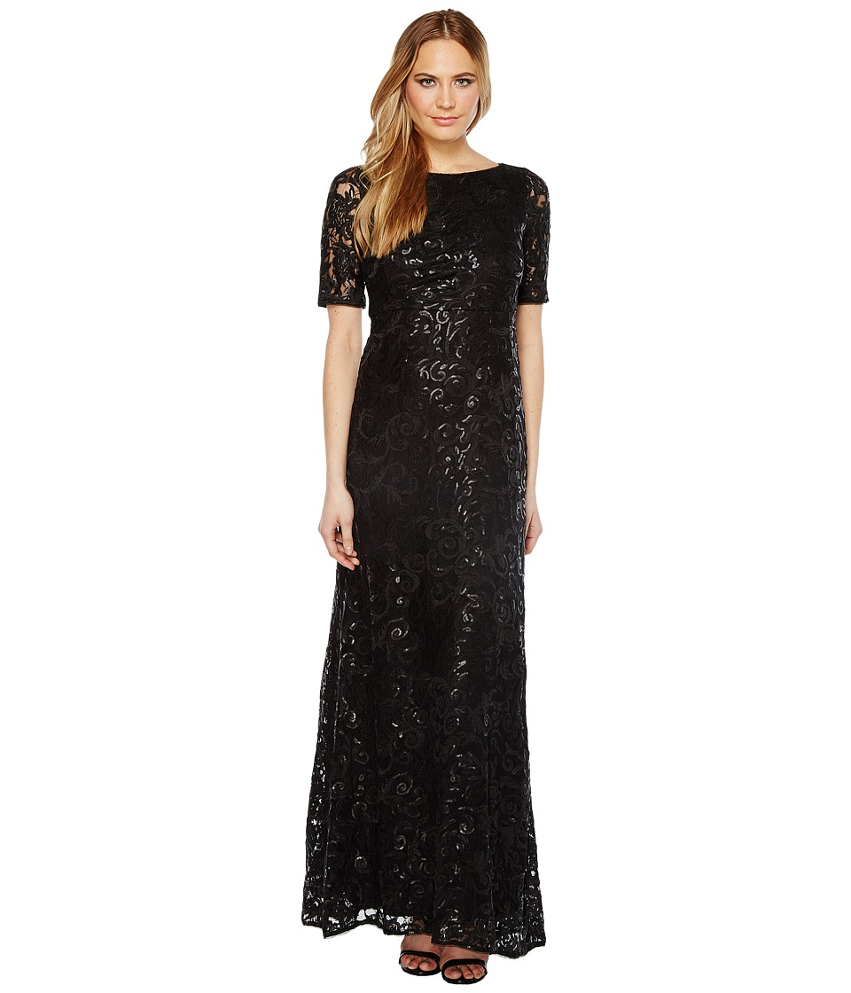 Adrianna Papell - Stretch Tulle and Sequin Gown