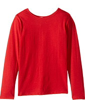 4Ward Clothing - Long Sleeve Scoop Jersey Top - Reversible Front/Back (Little Kids/Big Kids)