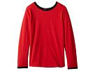 4Ward Clothing Four-Way Reversible Long Sleeve Scoop Jersey Top (Little Kids/Big Kids)