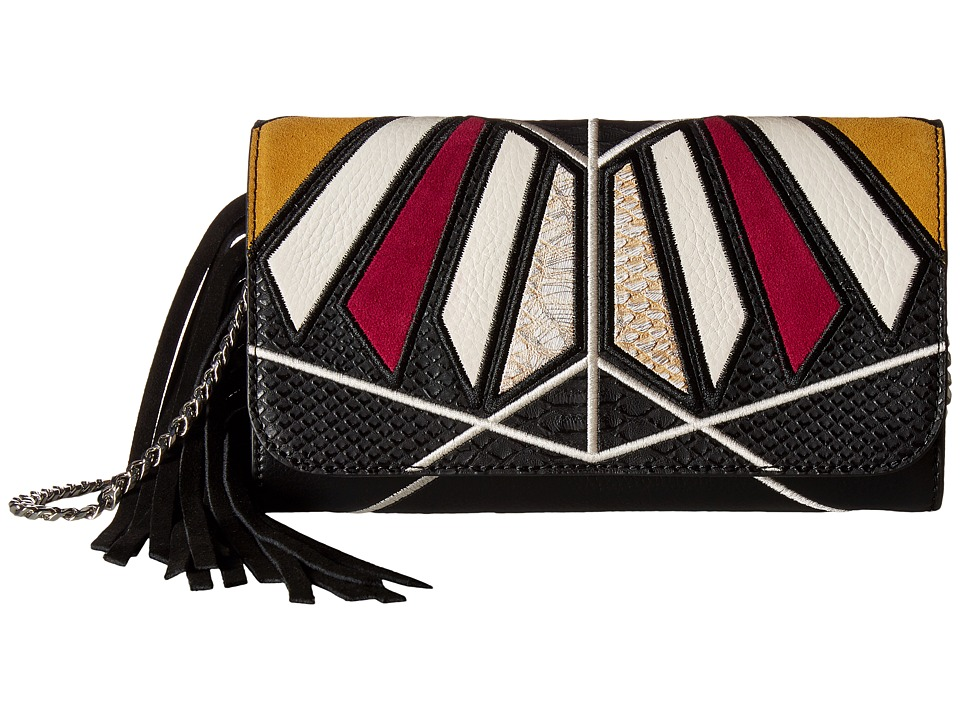 Sam Edelman - Talia Shoulder (Black Multi) Shoulder Handbags