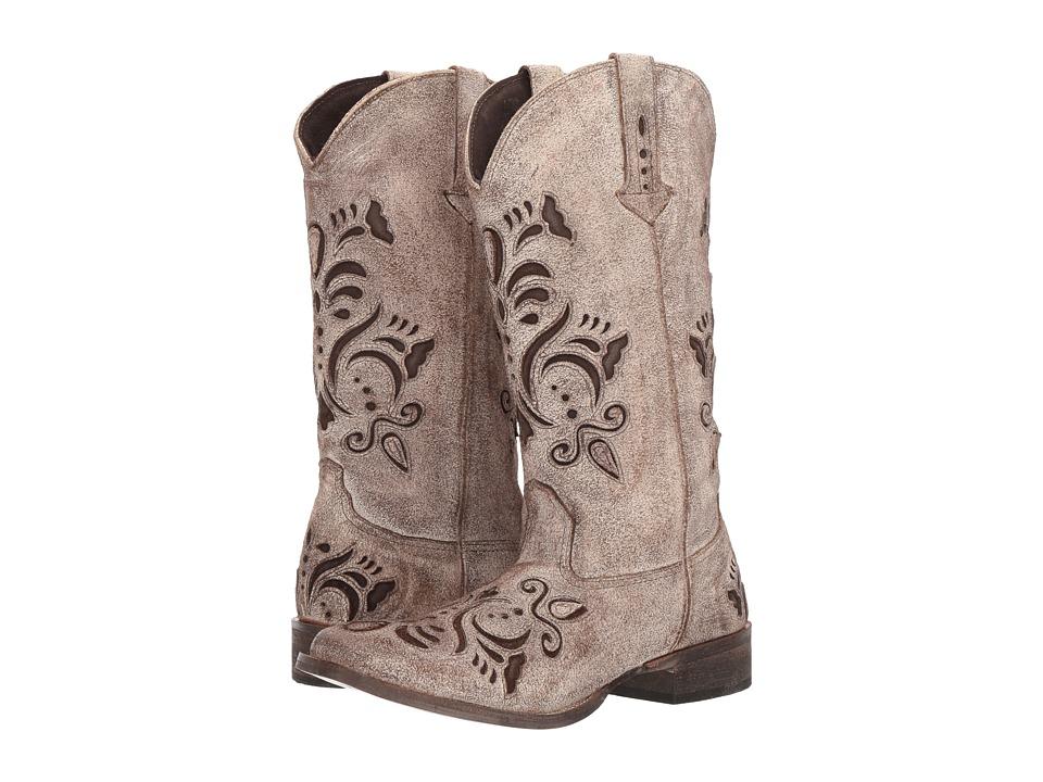 Roper Belle (Tan) Cowboy Boots