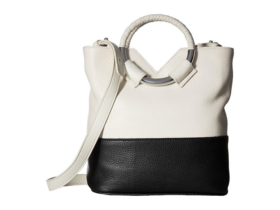 Sam Edelman - Elina Small Bucket (Modern Ivory/Black) Handbags