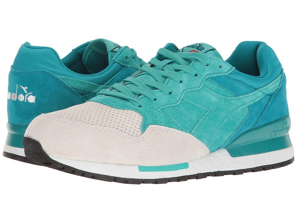 Diadora Intrepid Premium (Harbor Blue/Ceramic) Athletic Shoes