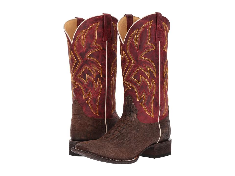 Roper Predator (Embossed Brown) Cowboy Boots