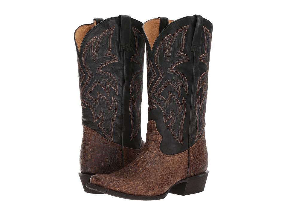 Roper Reptilian (Embossed Tan) Cowboy Boots