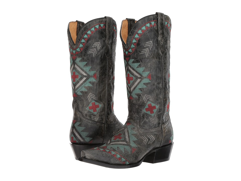 Roper Mai (Southwest Embroidered) Cowboy Boots