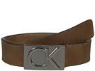38mm Belt w/ CK Logo Plaque Buckle