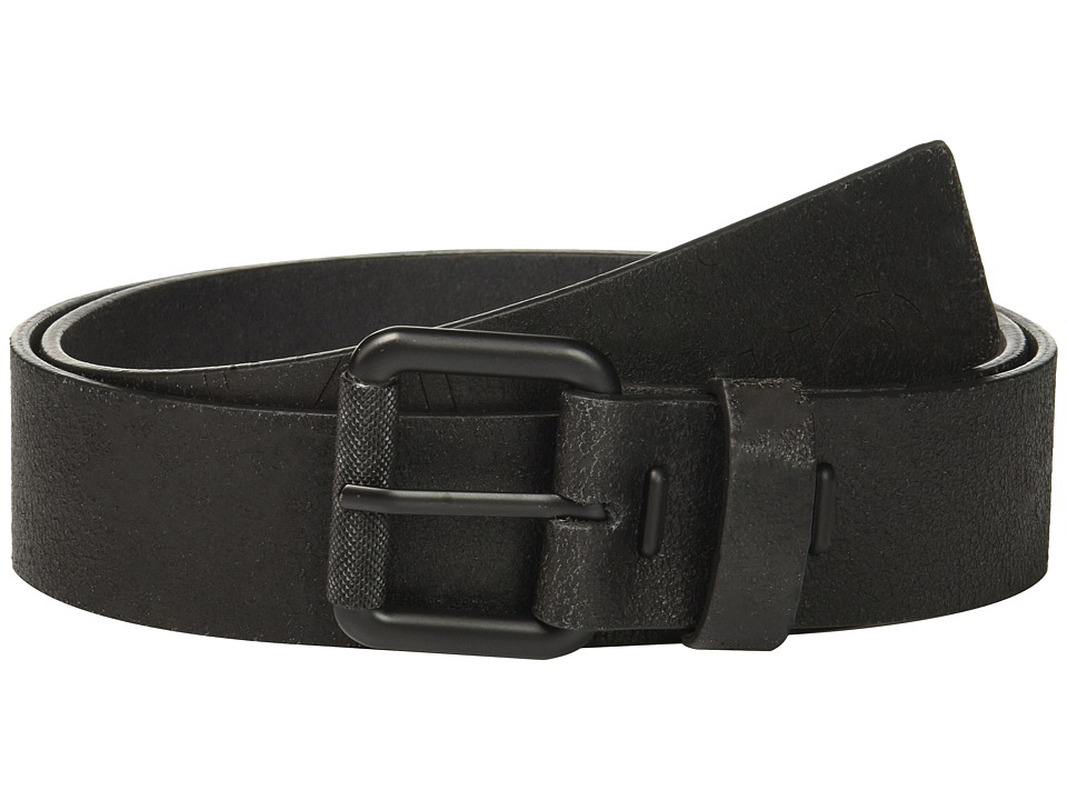 Calvin Klein Calvin Klein - 40mm Crackle Finish Belt w/ Roller Buckle