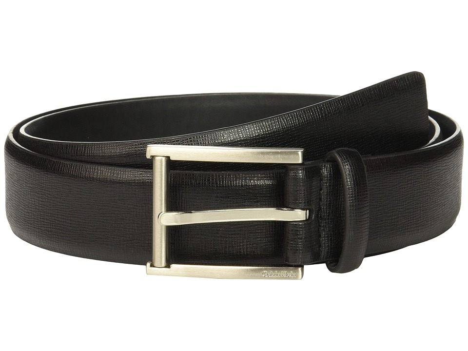 Calvin Klein Calvin Klein - 35mm Belt w/ Roller Bar Harness Buckle