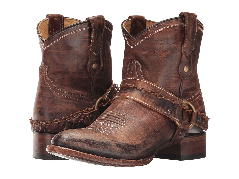 Roper Selah (Brown Leather) Cowboy Boots