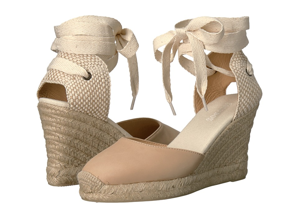 Soludos Tall Wedge (Nude) Women