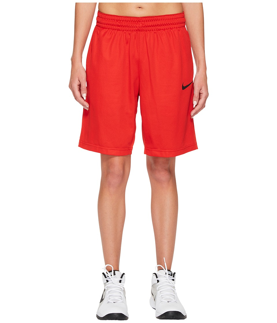 Nike Dry Essential 10 Basketball Short (University Red/University Red/Black) Women