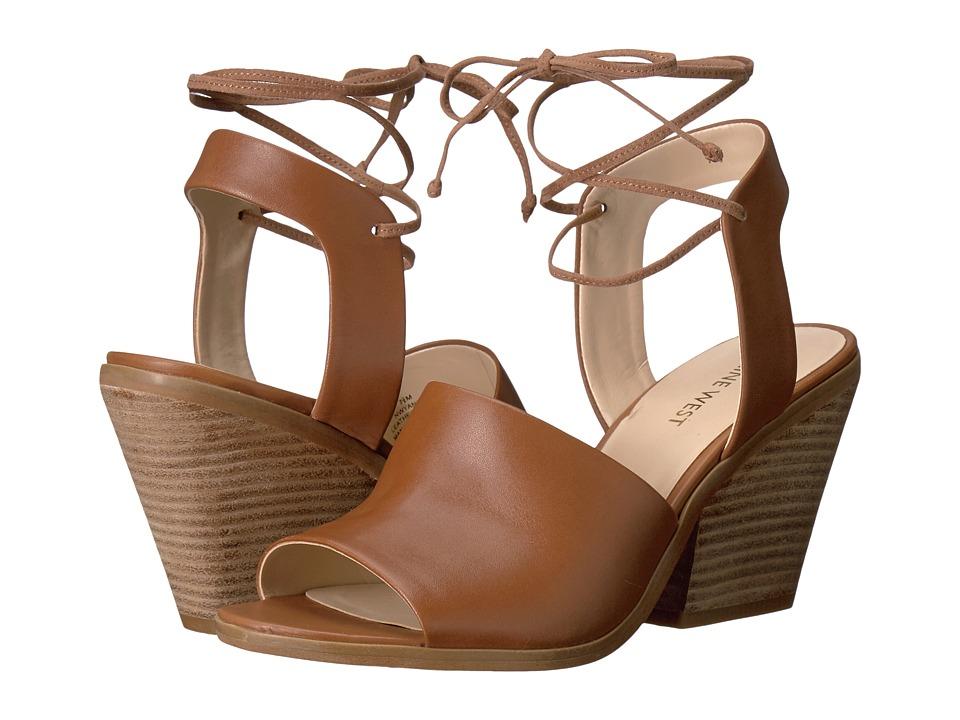 Nine West - Yanka (Dark Natural Leather) High Heels