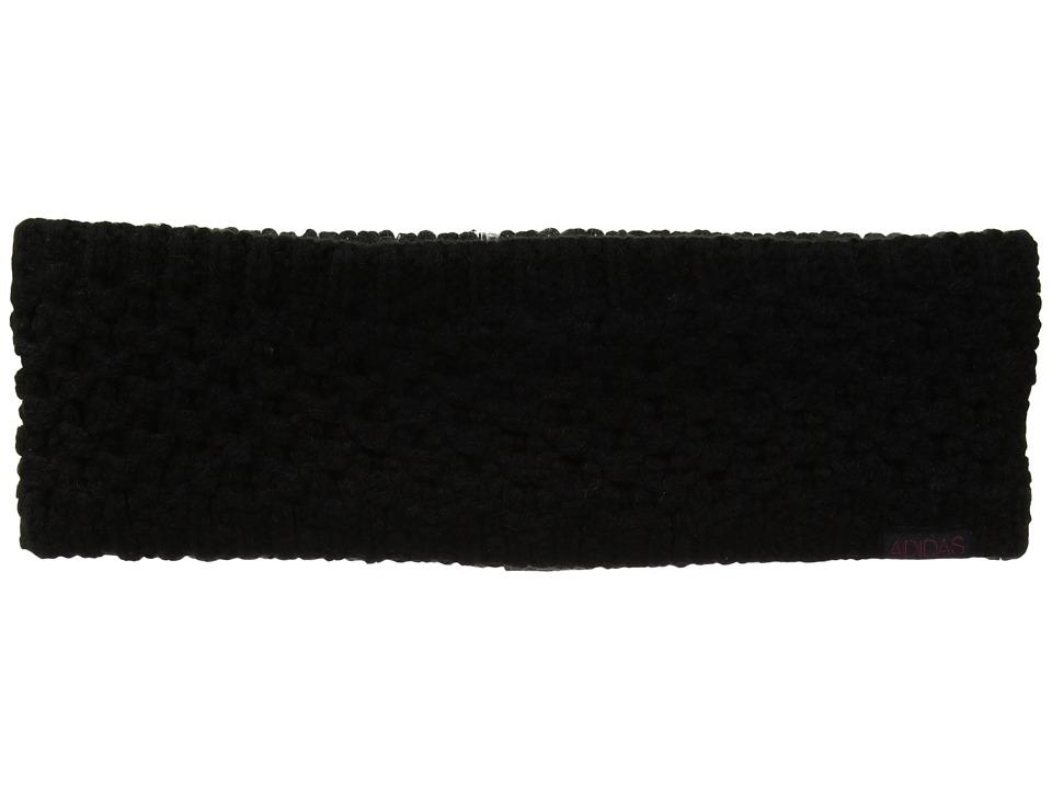 Adidas Evergreen II Headband (Black/Mystery Ruby) Headband