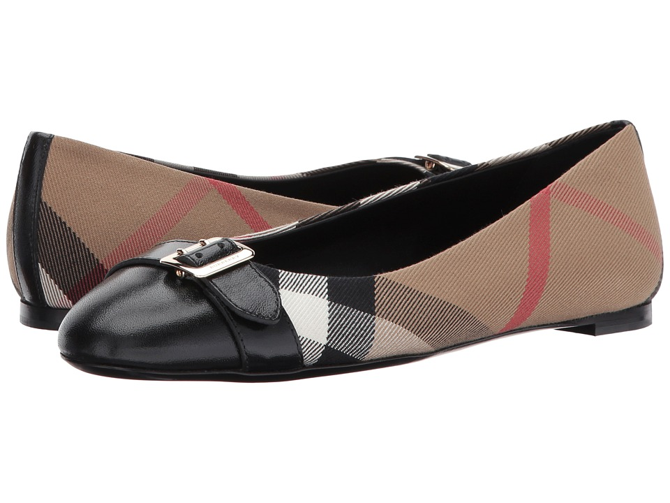 Burberry - Avonwick (Black 1) Womens Flat Shoes