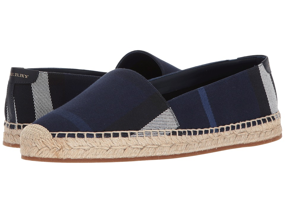 Burberry Hodgeson (Indigo Blue) Women's Slip on Shoes