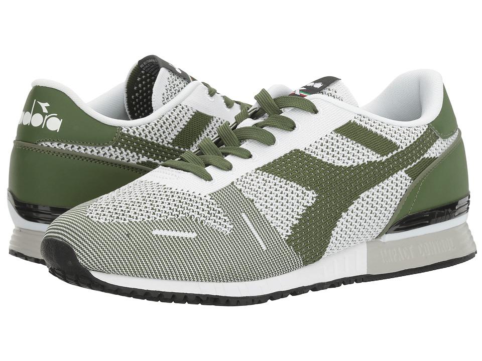 Diadora Titan Weave (Green Galapagos/Black) Athletic Shoes