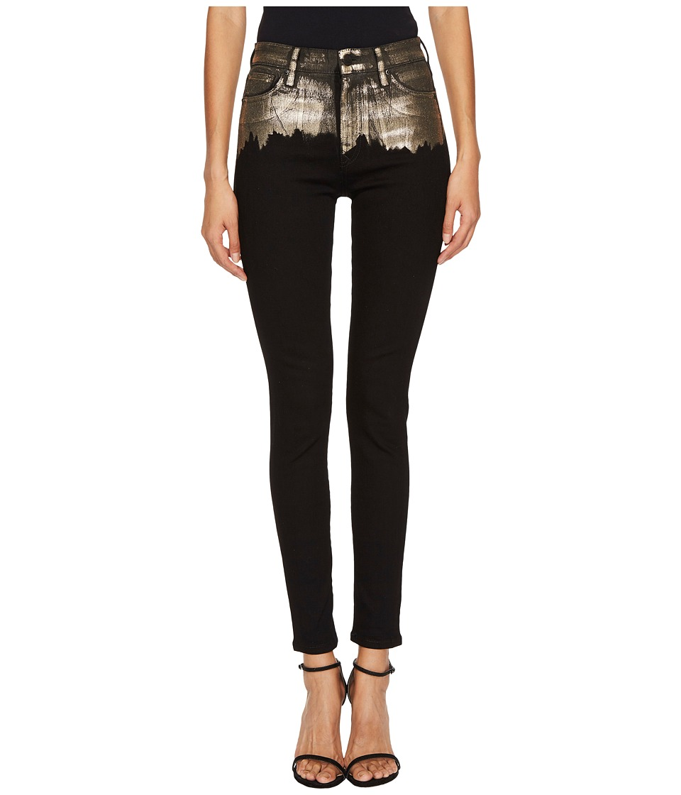 Vivienne Westwood High Waisted Super Skinny in Black Gold...
