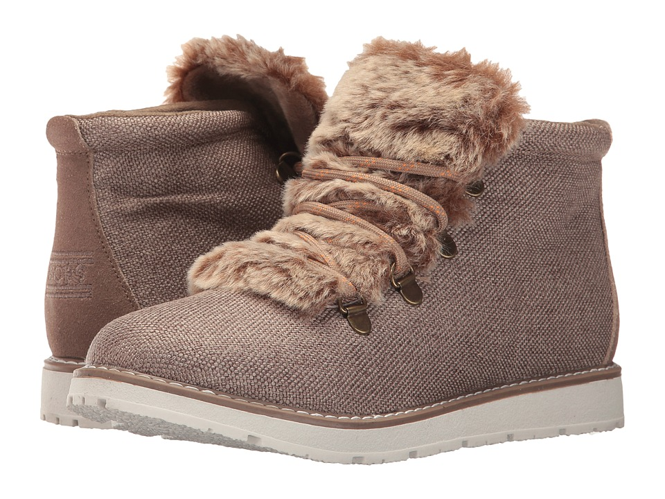 BOBS from SKECHERS Bobs Alpine (Taupe) Women
