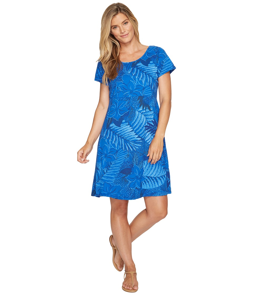 Fresh Produce Colored Pencils Sadie Dress (Electronic Blue) Women