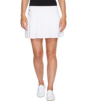 Lacoste - Light Technical Woven Pleated Skirt