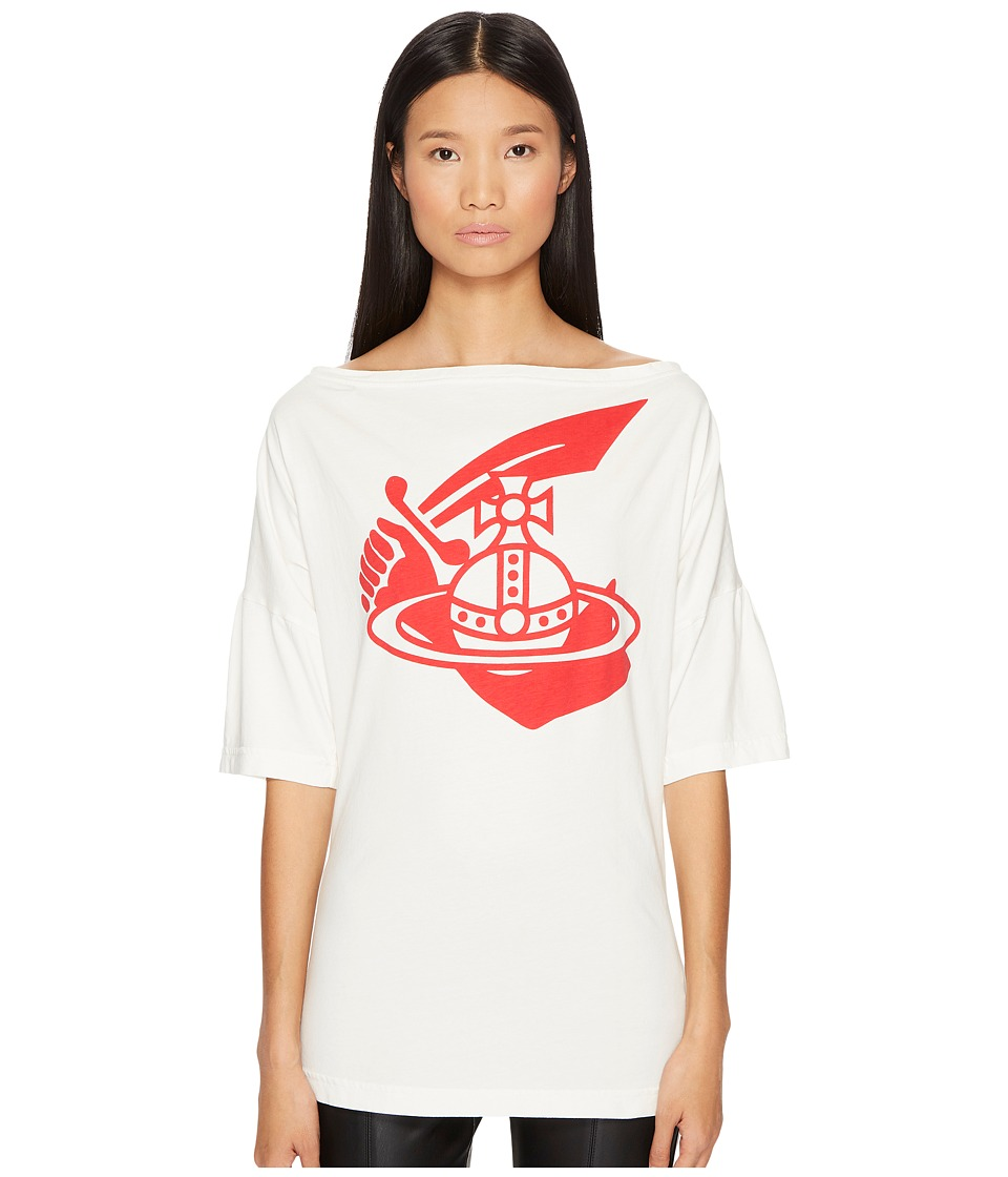 Vivienne Westwood Middling Long T-Shirt (White) Women
