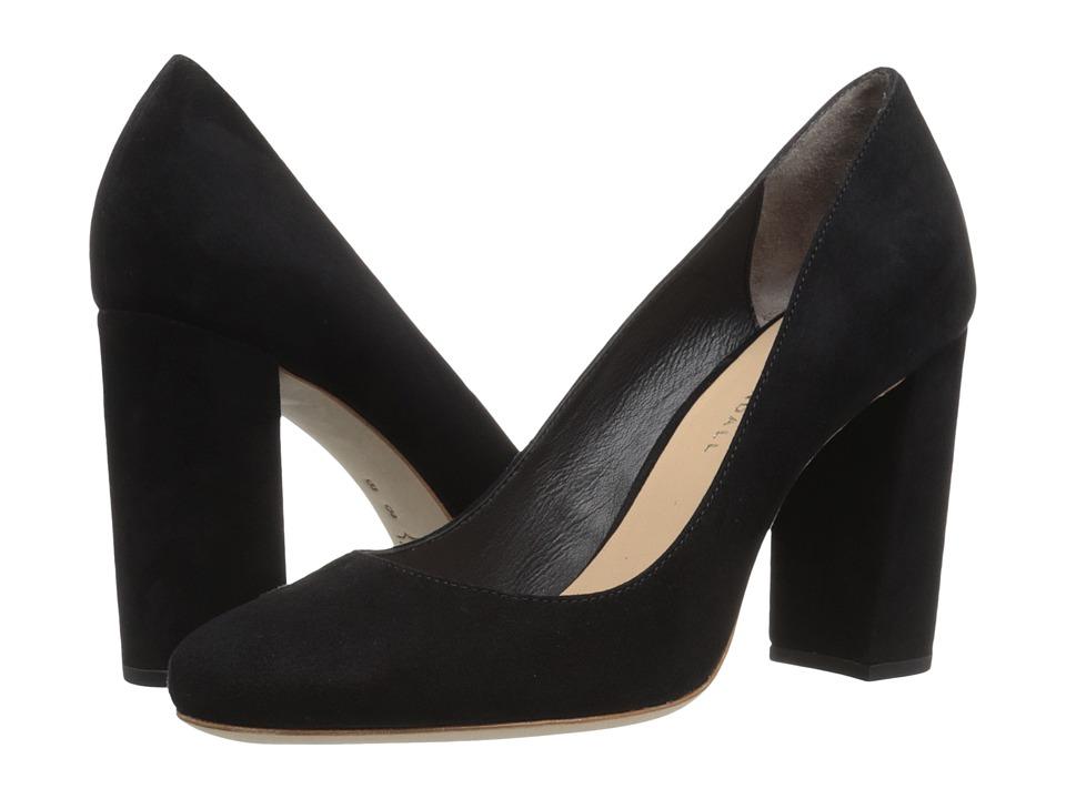 Loeffler Randall - Sydnee (Black Kid Suede) Womens Shoes
