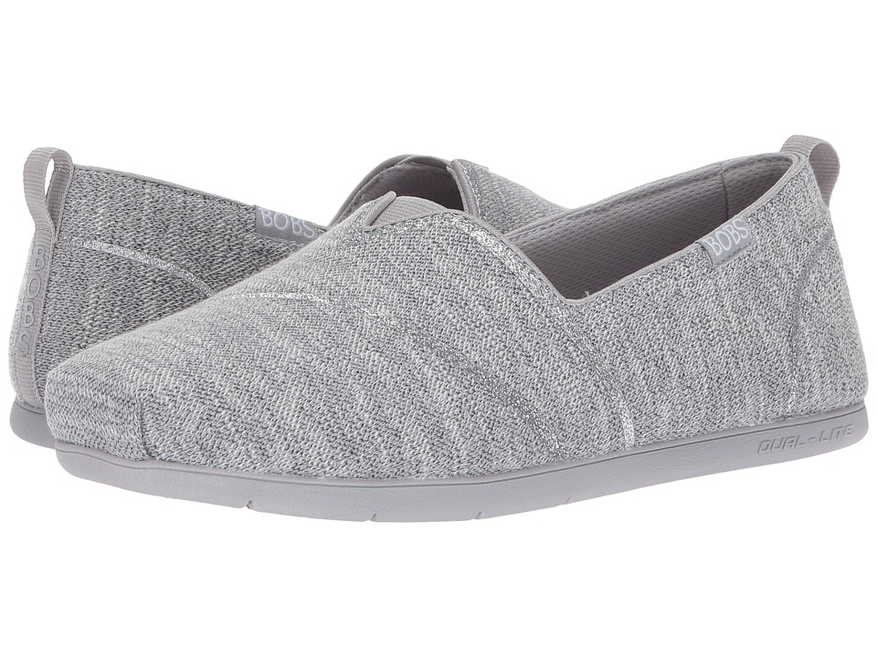 BOBS from SKECHERS Plush Lite Winter Skies (Grey) Women