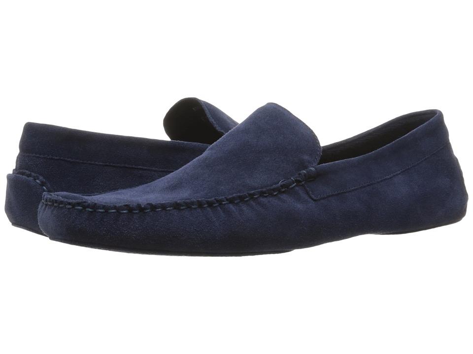 a. testoni - Suede Lined Cashmere Slipper
