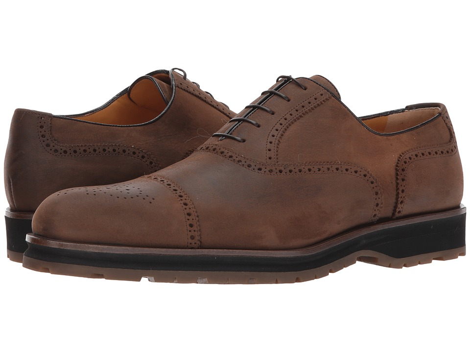 a. testoni a. testoni - Perforated Oxford