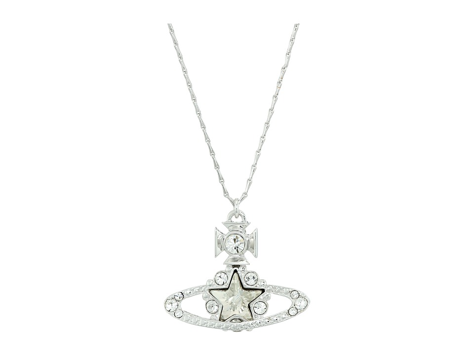 Vivienne Westwood - Astrid Pendant (Crystal Silver) Necklace