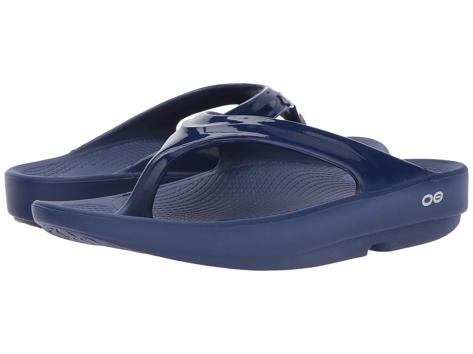 OOFOS - OOlala Sandal (Navy) Women's Sandals