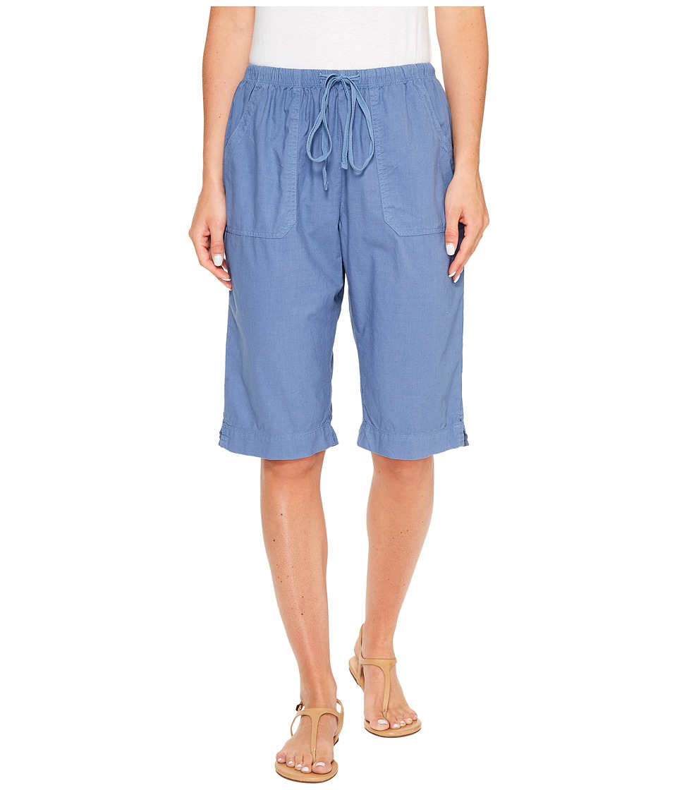 Fresh Produce - Park Avenue Pedal Pusher (Deep Dive) Womens Shorts