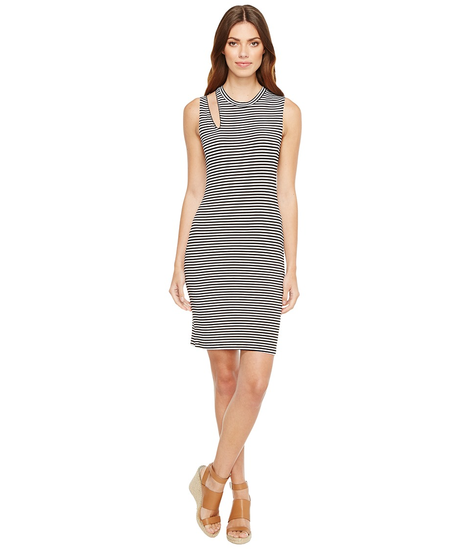 LNA - Stripe Single Slice Tank Dress
