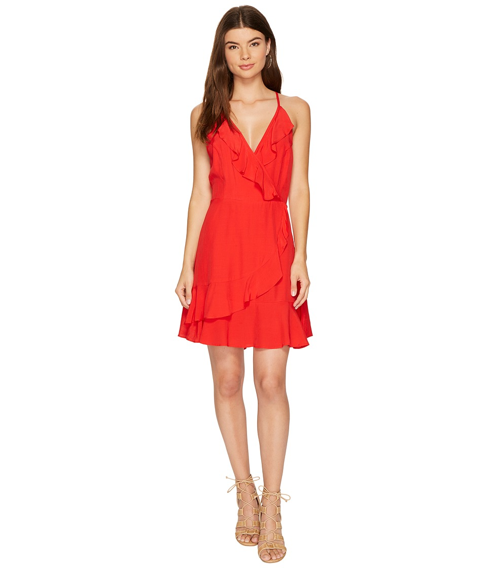 Lucy Love Up All Night Dress (Hot Tamale) Women