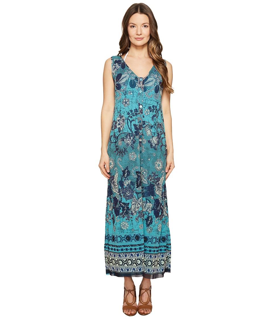 FUZZI - Long Reversible Batik Dress Cover