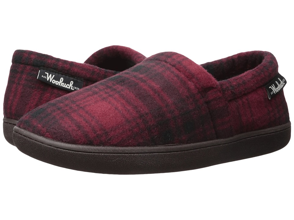 Woolrich Chatham Run (Red Hunting Plaid Wool) Men