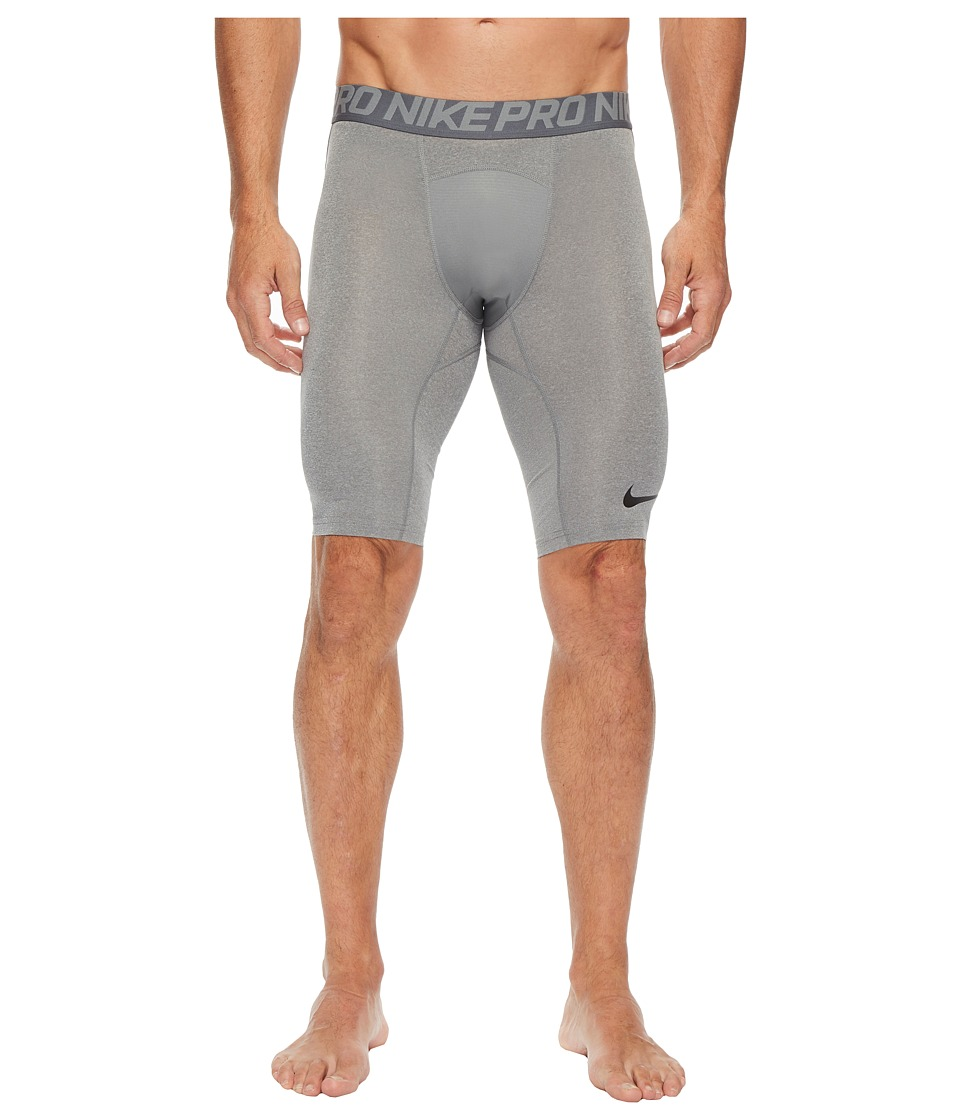 Nike Pro 9 Training Short (Carbon Heather/Dark Grey/Black) Men