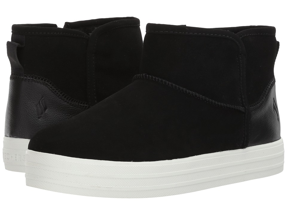 SKECHERS Double Up Shorty (Black) Women