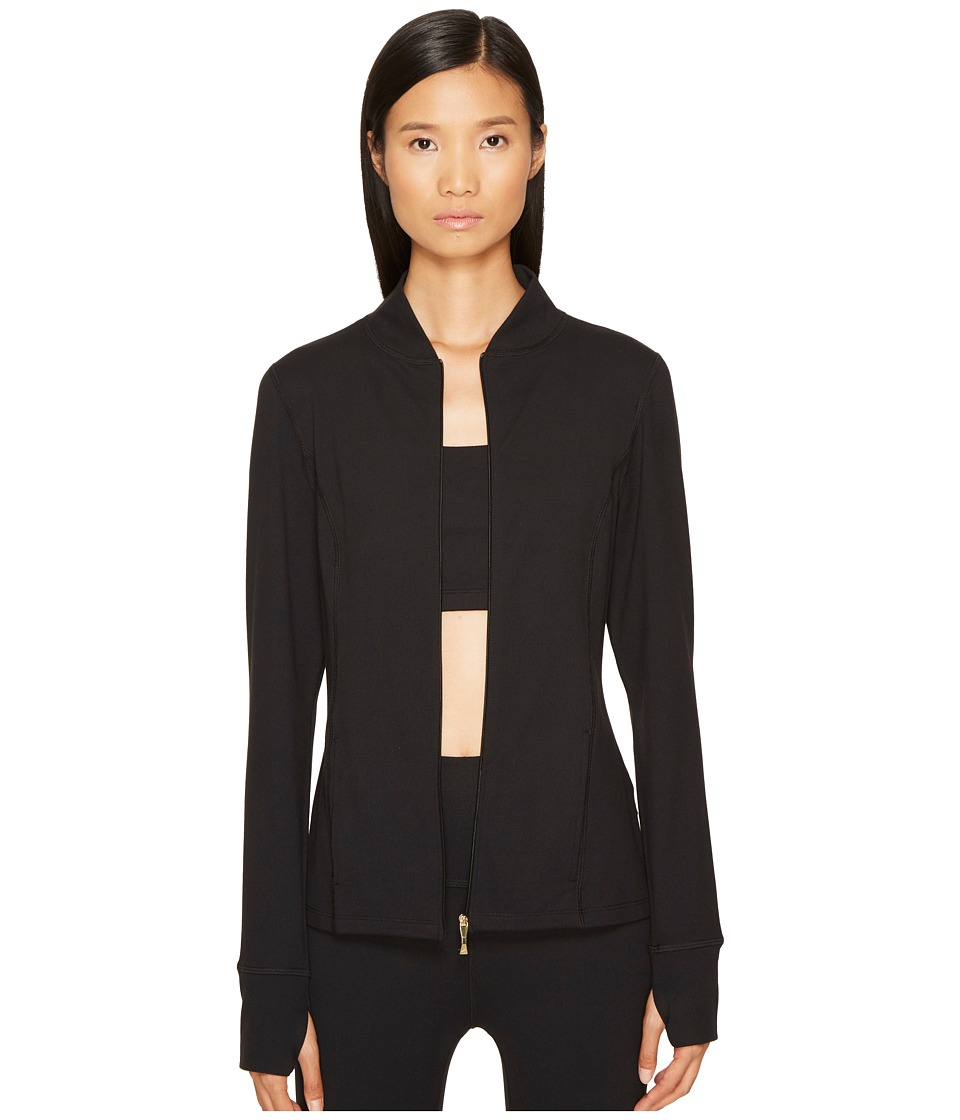 Kate Spade New York x Beyond Yoga Madison Bow Jacket (Jet Black) Women